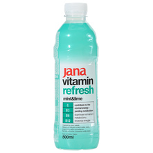 Jana Vitamin Refresh Voda mint&lime 500 ml