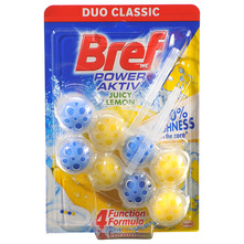 Bref WC Power Aktiv juicy lemon 2x50 g