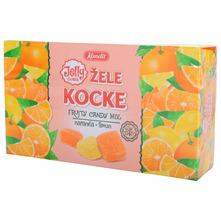 Kandit Žele kocke naranča limun 320 g