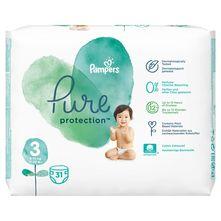 Pampers Pure Protection Pelene, veličina 3 (6-10 kg) 31/1