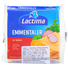 Lactima Topljeni sir Emmentaler u listićima 130 g