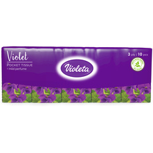 Violeta Papirnate maramice 3 sloja 10/1