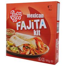 Poco Loco Mexican fajita kit 505 g