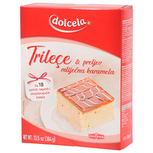 Dolcela Trilece & preljev mliječna karamela 384 g