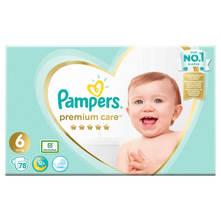 Pampers Premium Care Pelene, veličina 6, 13+ kg 78/1