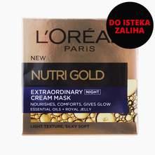 L'oreal Nutri gold extraordinary noćna krema 50 ml