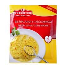 Podravka Bistra juha s tjesteninom 45 g