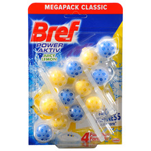 Bref WC Power Aktiv juicy lemon 3x50 g