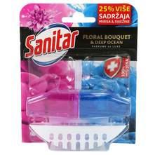 Sanitar wc floral bouquet&deep ocean duoblock 62 ml