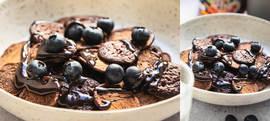 Mini palačinke s čokoladnim medom