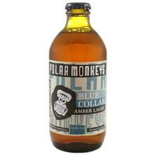 Polar Monkeys Blue Collar Amber Lager pivo 0,33 l