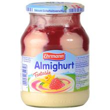 Ehrmann Fantasie voćni jogurt vanilija/malina 500 g