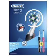 Oral B Pro 2 Punjive električne zubne četkice s dodatnom drškom 2/1