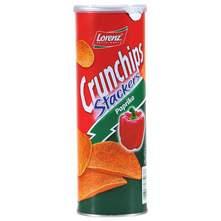 Lorenz Crunchips Stackers Čips paprika 175 g