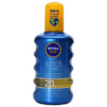 Nivea Sun Protect&Dry Touch SPF 20 Sprej za sunčanje 200 ml