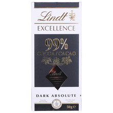 Lindt Excellence 99% Cacao Čokolada 50 g