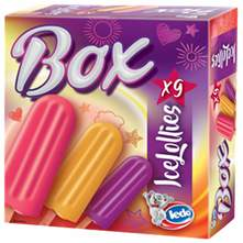 Ledo Box Sladoled ice lollies 9/1