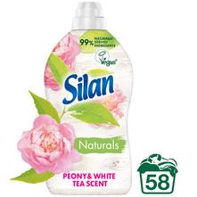 Silan Naturals Omekšivač peony & white tea scent 1450 ml