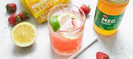 Limunada s jagodama