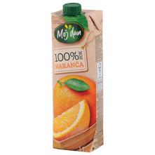 Moj dan Sok 100% naranča 1 l