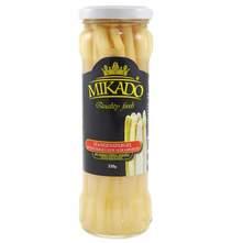 Šparoge bijele 205 g Mikado