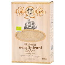 Dida Boža Ekološki nerafinirani šećer iz šećerne trske 600 g