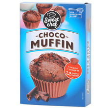 Sweet chef Muffin choco 310 g