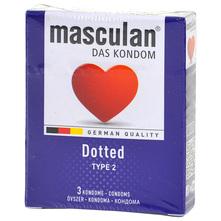 Masculan Dotted Prezervativi 3/1