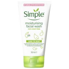 Simple Kind To Skin Hidratantni gel za čišćenje lica 150 ml