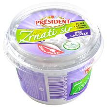 President Zrnati sir 200 g