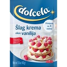 Dolcela šlag krema vanilija 45 g