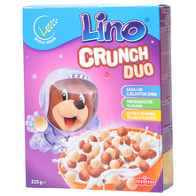 Lino Crunch Duo pahuljice 225 g