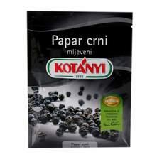 Kotanyi Papar crni mljeveni 17g