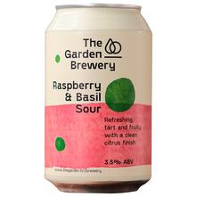 The Garden Brewery Raspberry & Basil Sour Pivo 330 ml