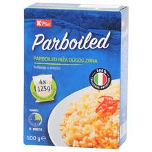 K Plus Parboiled riža u vrećici 4x125 g