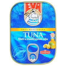 Eva Tuna fileti u maslinovom ulju 81 g