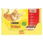 Purina Friskies Hrana za mačke piletina, govedina, janjetina, pačetina 4x85 g