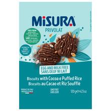 Misura Privolat Keksi kakao riža 120 g