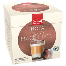 Franck Nota Latte Macchiato kava, 16 kapsula/8 napitaka, 198,4 g