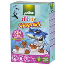 Gullon Dibus Sharkies Keks kakao 250 g