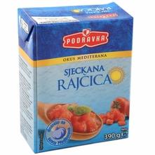 Podravka sjeckana rajčica 390 g