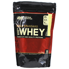 Optimum Nutrition Gold Standard 100% Whey Prah vanilla ice cream 450 g