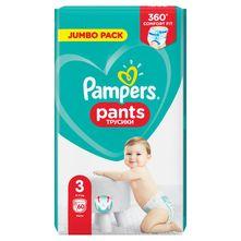 Pampers Pants Pelene-gaćice, veličina 3 (6-11 kg) 60/1