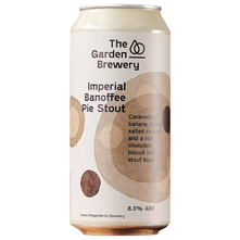 The Garden Brewery Imperial Banoffee Pie Stout Pivo 440 ml