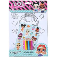 L.O.L. Surprise Bojanka colouring set