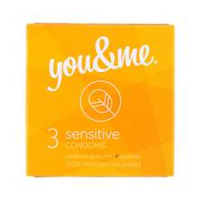 You&Me sensitive prezervativi 3/1