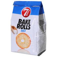 7days Bake rolls salt 80 g