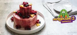 'Torta' od lubenice i voća