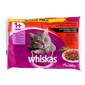 Whiskas Hrana za mačke izbor mesa u umaku 4x100 g