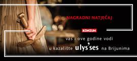 Nagradni natječaj 'Konzum vas i ove godine vodi na Ulysses'